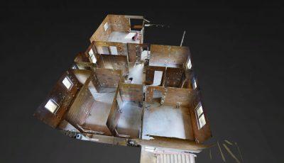 Rohbau Bungalow 3D Model
